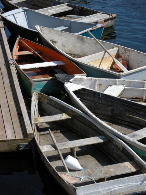 Row Boats at Rest